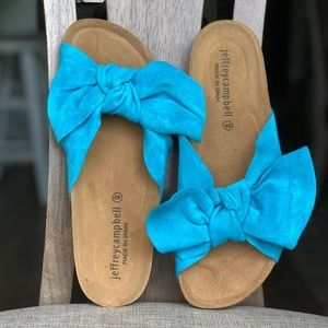 Slippers with bow NEW